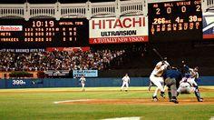 Yankee Stadium. Mets vs. Yankees.  June 16, 1997  First ever official Mets vs. Yankee game. Mets win!