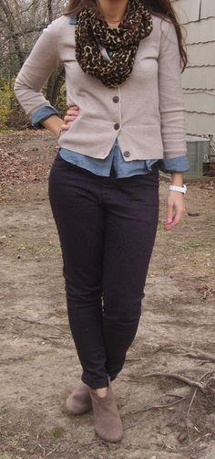 leopard infinity scarf, leopard print purple skinny jeans