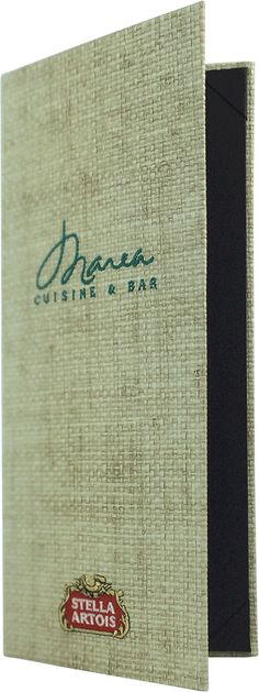 Marea - Create an attractive arrangement of your menu items with menu covers from Menu Designs. We have a large selection of menu covers made from the finest materials. Whether you're a café interested in menu boards or a five star dining establishment who's looking for leather menu covers, we're sure you'll find the perfect menu covers for your restaurant.
