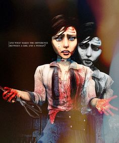 Bioshock Infinite - The killing part. Bioshock 1, Bioshock Series, Bioshock Infinite, Her Cut, Cut Her Hair, Fallout New Vegas, Fallout 3, Elizabeth Comstock, Irrational Games