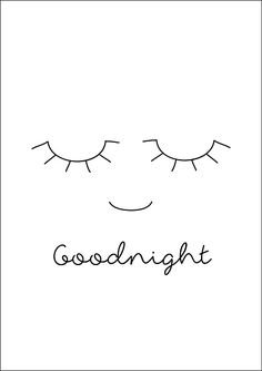 Poster A4 Studio Lily Rose 'Goodnight'