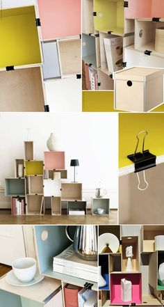 DIY: STACKABLE SHELF | Knock on Wood | Scandinavian Interior Design Inspiration in the Middle East | Nordic Homeworx | Kährs Wood Flooring of Sweden | Dubai | UAE | Middle East | Nordic Homeworx