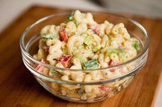 Vegan Classic American Macaroni Salad. Gluten-Free Note: Make sure you use GF Pasta