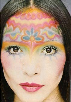 Cecil Beaton for Vogue, 1971. Barbara Carrera