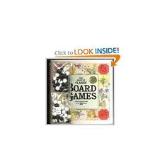 BOOK OF CLASSIC BOARD GAMES - love this!!! would be a great gift!
