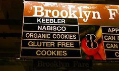 Brooklyn Fare, now with Gluter Free Cookies