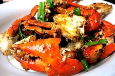 How to cook Adobong Alimango or Mud Crabs Adobo is a delectable Pinoy dish made of mud crabs, mud crab Aligue, fish sauce, calamansi, garlic and pepper.  The secret in making this Adobong Alimango very delicious is by extracting the Aligue or the crab fats, then marinate it for a few minutes in calamansi juice and fish sauce. The rest of the crab is sautéed in garlic. To be sure that you are buying fresh Alimango (Mud crabs) just get the live ones then cook as soon as possible.  Read more…