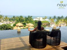 The views are endless at Now Amber Puerto Vallarta! Grab a drink and enjoy the sights!