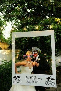 """Photo booth """"Polaroid"""" frame"""
