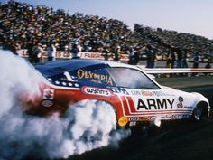 The Army Funny Car