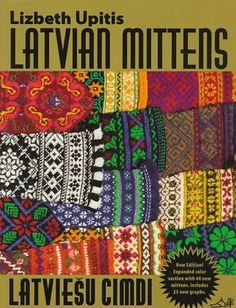 This Latvian mitten pattern comes from the district of Ventspils and features a cuff with a scalloped edge. The model mitten was knit in brown, green, yellow, red, and white. Knitting Books, Crochet Books, Knitting Charts, Knitting Patterns, Knit Crochet, Mittens Pattern, Knit Mittens, Knitting Sweaters, Knitted Gloves
