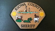 Kiowa County Sheriff Patch, Colorado (Current Issue)
