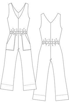Schnittmuster-Pattern-Jumpsuit-#carlajumpsuit-7