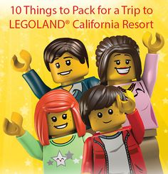 Enjoy your vacation at LEGOLAND California Resort with tons of LEGO fun for the whole family. This San Diego amusement park is great for toddlers, kids and adults. Legoland California, Legoland Florida, California Vacation, Florida Vacation, Vacation Trips, Southern California, Vacation Ideas, Disneyland Trip, Disney Vacations