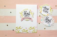 Hello friends! I have 3 cards to share with you today, all made with this beautiful stamp set by WPlus9 called Valentine Wishes. I tried to make the most out of my stamp set and found some ways on …