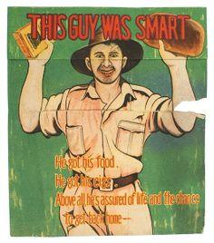 A Japanese propaganda leaflet featuring an Australian soldier. -