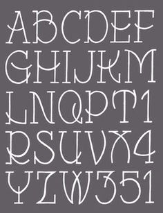 great for chalkboard lettering Hand Lettering Alphabet, Chalk Lettering, Doodle Lettering, Creative Lettering, Lettering Styles, Typography Fonts, Brush Lettering, Pretty Fonts Alphabet, Calligraphy Fonts Alphabet