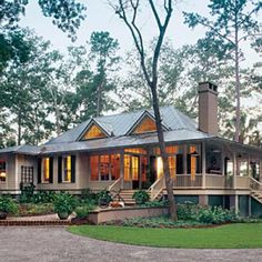 Cotton Hill Cottage from The Southern Living  HWBDO    Cotton Hill Cottage from The Southern Living  HWBDO     Cottage House Plan from BuilderHousePlans com   Southern Style   Pinterest   Cottages