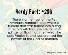 Nerdy Fact #286
