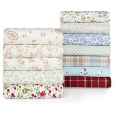 Shop for Laura Ashley 4-piece Flannel Sheet Set. Free Shipping on orders over $45 at Overstock.com - Your Online Sheets