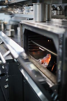 The Josper by Wood Stone charcoal broiler allows Christopher Kostow to add grilling to his bag of techniques.  - Erin Kunkel