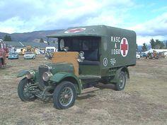 The last remaining original WWI Rover Sunbeam Ambulance. Ems World, World War One, Old Trucks, Fire Trucks, Emergency Vehicles, Armored Vehicles, Classic Trucks, Fire Department, Wwi