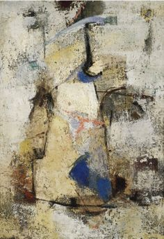 Secret Life (Vita Segreta) by Giuseppe Santomaso 1958 Oil on canvas, 28 13/16 x 19 11/16 inches (73.1 x 49.9 cm). The Solomon R. Guggenheim Foundation,Peggy Guggenheim Collection, Venice  76.2553.161 http://www.guggenheim.org/new-york/collections/collection-online/show-full/piece/?search=Secret%20Life==Title=76.2553.161
