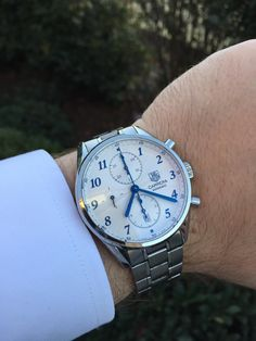 [Tag Heuer] My wedding present from my wife. http://ift.tt/2hKeinr