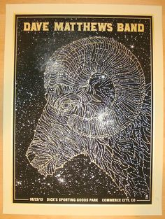 2013 Dave Matthews Band - Commerce City I Poster by Methane