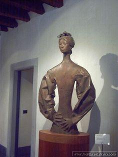 Giacomo Manzu' - La signora giapponese (Bergamo, Galleria d'Arte Moderna e Contemporanea, 1971-81.jpg