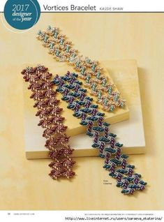 Beading Patterns Free, Seed Bead Patterns, Beaded Bracelet Patterns, Seed Bead Tutorials, Beading Tutorials, Seed Bead Bracelets, Seed Bead Jewelry, Pearl Bracelet, Super Duo Beads
