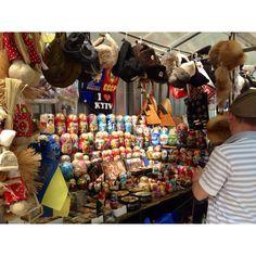 """Matrioshkas"", Kiev - Ukraine - street sales on St. Andrews Descent"