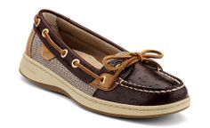 Sperry Top-sider  Women's Angelfish Slip-On Boat Shoe with Anchors! I am totally getting these!