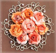 Paper Flower of rose (paper flowers)