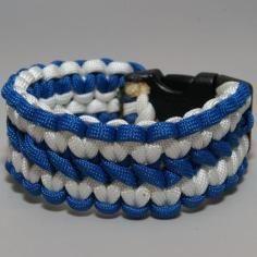DIY Tutorial Bracelets / How to Make a Wide Cobra Paracord Bracelet - Bead&Cord