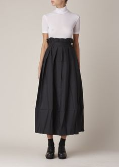Issey Miyake  Origami Skirt (Black Luster)                                                                                                                                                                                 More