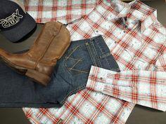 Un ensemble pour votre cowboy ;-) ! Bearpaw Boots, Shoes, Fashion, Wrangler Clothing, Zapatos, Moda, Shoes Outlet, La Mode, Shoe