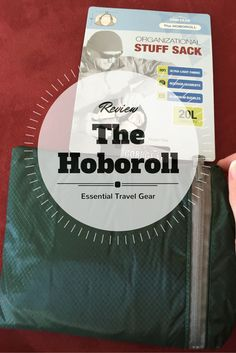 A tiny organizational stuff sack with huge capacity: The Hoboroll. #TravelGear #Travel