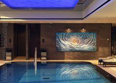 Art for interiors | Natalia Koreshkova New Hilton Tallinn Park www.dsign.fi