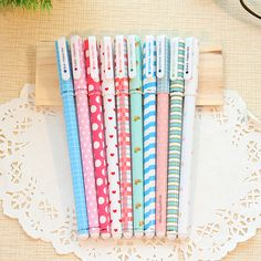 5 pcs/lot Kawaii Cartoon Colorful Gel Pen Set Cute Korean Stationery Pens For Writting Office School Supplies Gift Free Shipping #>=#>=#>=#>=#> Click on the pin to check out discount price, color, size, shipping, etc. Save and like it!