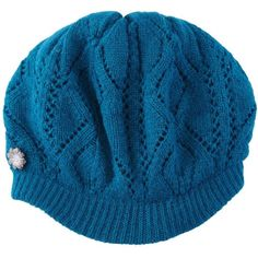 Yumi Knitted cap. ($9.67) ❤ liked on Polyvore
