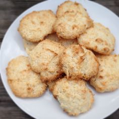 3 Ingredient Macaroons #Easy #Dessert #Recipes