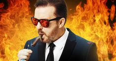 Ricky Gervais Is Returning to Host 2016 'Golden Globes' -- Comedian/actor/filmmaker Ricky Gervais returns for his fourth stint as host of the 'Golden Globe Awards', airing Sunday, January 10 on NBC. -- http://movieweb.com/golden-globes-2016-host-ricky-gervais/
