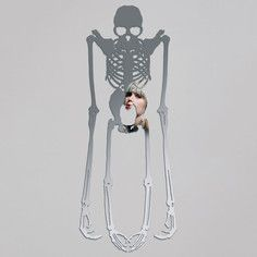 Skeleton Mirror, $119, now featured on Fab.