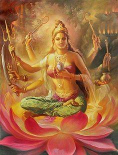 Goddess Shakti by Artist Damodar Salve