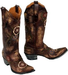 Rivertrail Mercantile - Old Gringo Tyler Boots, $420.00 (http://www.rivertrailmercantile.com/old-gringo-tyler-boots/)