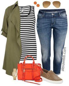 Plus Size Spring Outfit Idea - Plus Size Fashion for Women - AlexaWebb.com #alexawebb