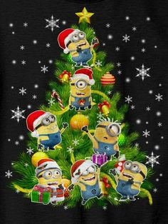 Pin by Jackie Martin on Minion pictures Merry Christmas Minions, Merry Christmas And Happy New Year, Christmas Quotes, Christmas Pictures, Winter Christmas, Christmas Cards, Evil Minions, Cute Minions, Minions Despicable Me