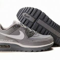 brand new dd788 50ccb 2014 Gray White Nike Air Max LTD Fashion Shoes Mens AM1616 Nike Air Max Ltd,