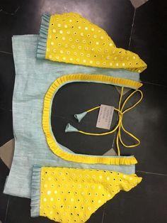 20 New Blouse Designs Patterns 2018 – ArtsyCraftsyDad Cotton Saree Blouse Designs, Simple Blouse Designs, Stylish Blouse Design, Saree Blouse Patterns, Blouse Designs Embroidery, Simple Blouse Pattern, Blouse Simple, Hand Embroidery, Designer Blouse Patterns